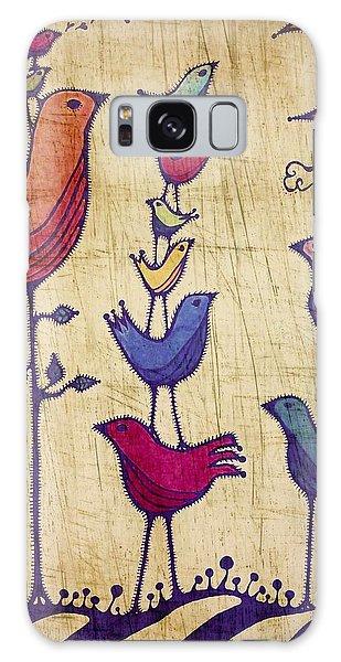 Song Birds Galaxy Case - Serenade by Sandra Perez-Ramos
