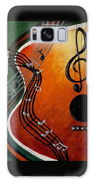 Serenade Galaxy Case by Teresa Wing
