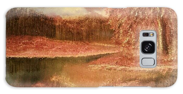 Serene Lake  Galaxy Case