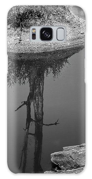 Galaxy Case featuring the photograph Serene Reflection, Nagzira, 2011 by Hitendra SINKAR