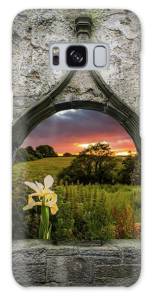Galaxy Case featuring the photograph Serene Sunset Over County Clare by James Truett