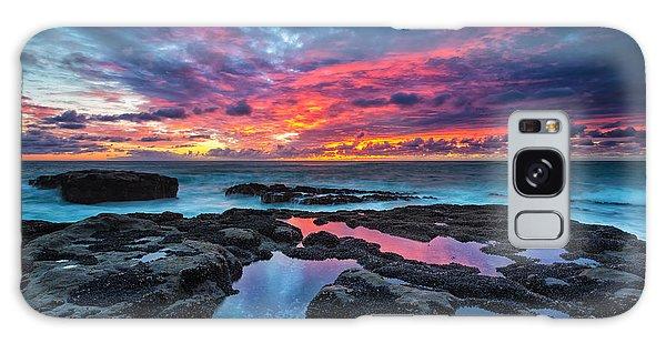 Tide Galaxy Case - Serene Sunset by Robert Bynum