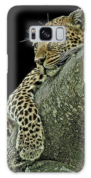 Serengeti Leopard 2a Galaxy Case