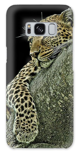 Serengeti Leopard 2a Galaxy Case