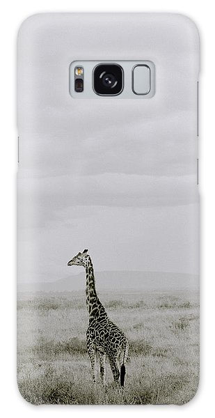 Serengeti Solitude Galaxy Case by Shaun Higson