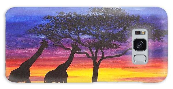Serengeti Sunset Galaxy Case by Darren Robinson