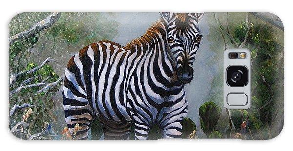 Serengeti Zebra Galaxy Case