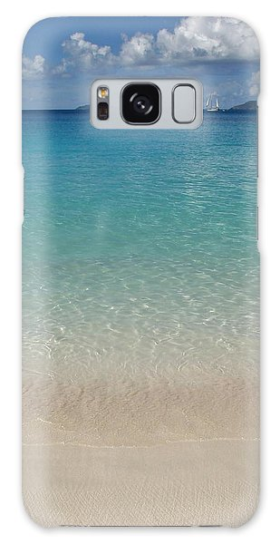 Serenity At Trunk Bay  Galaxy Case by Margaret Bobb