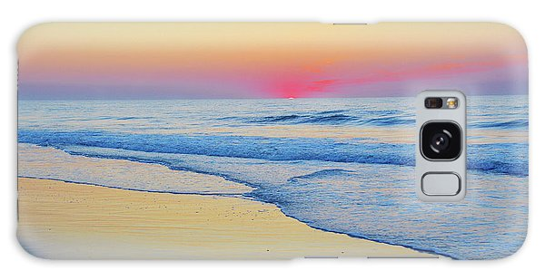 Serenity Beach Sunrise Galaxy Case