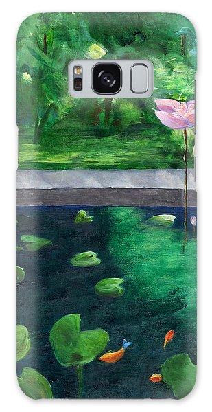 Serenity Pond Galaxy Case