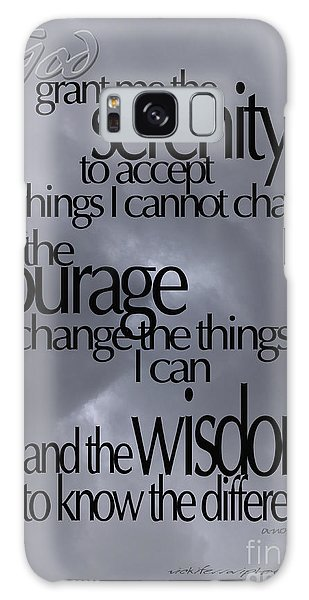Serenity Prayer 05 Galaxy Case