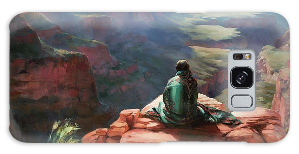 Galaxy Case featuring the painting Serenity by Steve Henderson
