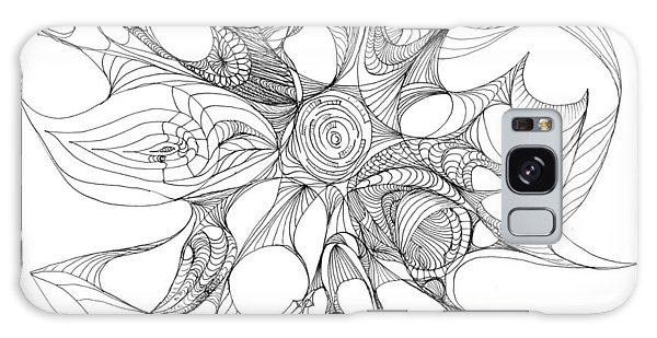 Serenity Swirled Galaxy Case by Charles Cater