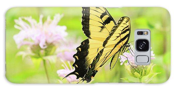 Series Of Yellow Swallowtail #4 Of 6 Galaxy Case by Joni Eskridge