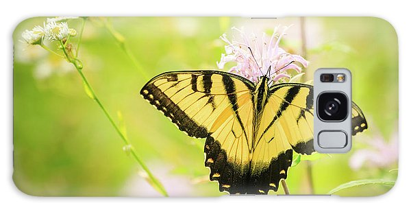 Series Of Yellow Swallowtail #6 Of 6 Galaxy Case