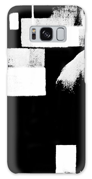 Seriously Black And White Galaxy Case