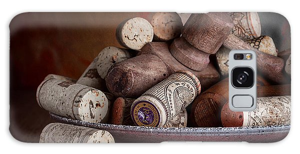 Antique Galaxy Case - Served - Wine Taps And Corks by Tom Mc Nemar