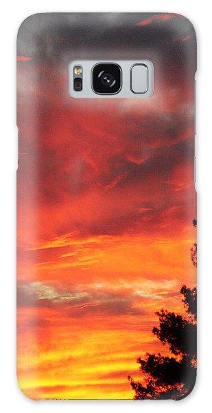 Desert Sunburst Galaxy Case