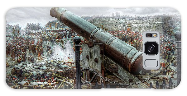 Sevastopol Cannon 1855 Galaxy Case by Pennie  McCracken