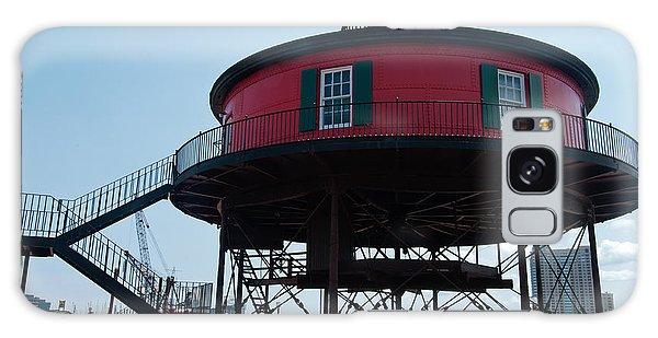 Seven-foot Knoll Lighthouse Galaxy Case