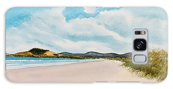 Seven Mile Beach On A Calm, Sunny Day Galaxy Case