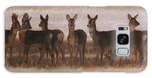 Seven Roe Deers Galaxy Case