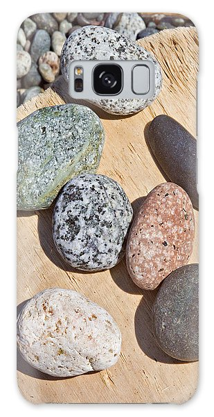 Seven Stones On A Log Galaxy Case