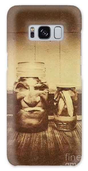 Body Parts Galaxy Case - Severed And Preserved Head And Hand In Jars by Jorgo Photography - Wall Art Gallery
