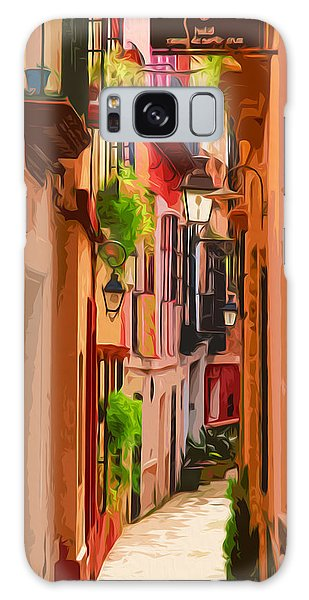 Seville, Colorful Spain Galaxy Case