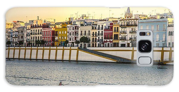 Seville - Sunset In Calle Betis Galaxy Case