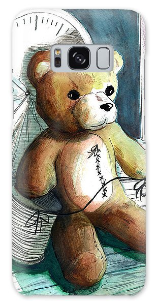 Sewn Up Teddy Bear Galaxy Case