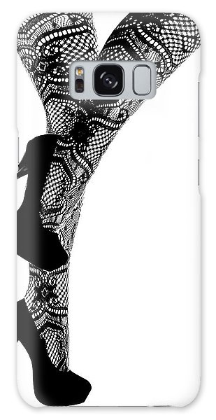 Sexy Legs In Stilettos Galaxy Case by Marius Sipa