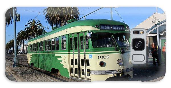 Sf Muni Railway Trolley Number 1006 Galaxy Case