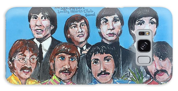 Sgt.pepper's Lonely Hearts Club Band Galaxy Case