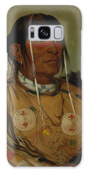 Co Galaxy S8 Case - Sha-co-pay, The Six, Chief Of The Plains Ojibwa by George Catlin