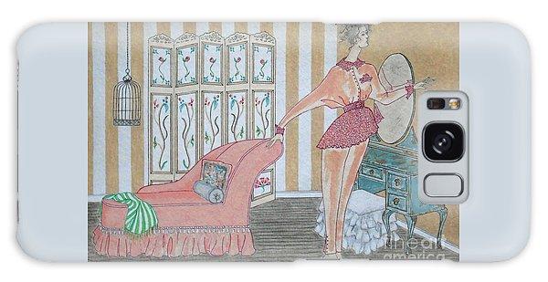 Shabby Chic -- Art Deco Interior W/ Fashion Figure Galaxy Case