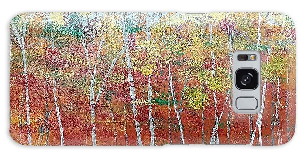 Shades Of Autumn Galaxy Case by Judi Goodwin