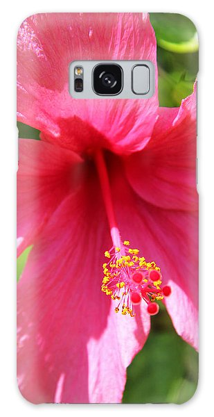 Shades Of Pink - Hibiscus Galaxy Case