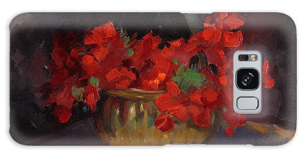 Shades Of Red Galaxy Case by Billie Colson