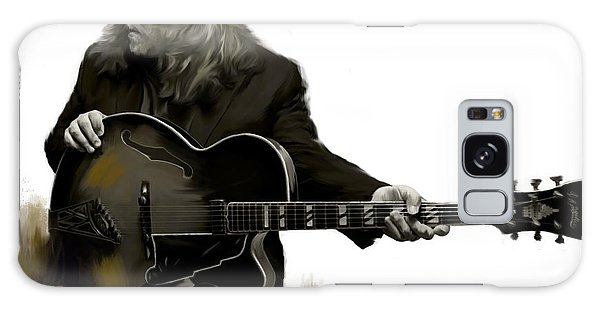 Shades Of Tone Iv Warren Haynes  Galaxy Case by Iconic Images Art Gallery David Pucciarelli