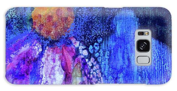 Shadow Abstract Bloom Galaxy Case