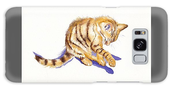 Cat Galaxy S8 Case - Shadow Boxing by Debra Hall