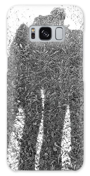 Shadow In The Meadow Bw Galaxy Case