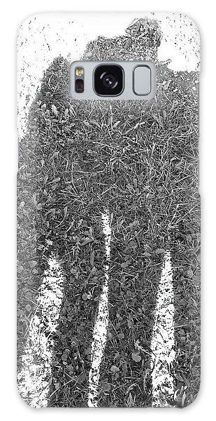 Shadow In The Meadow Bw Galaxy Case