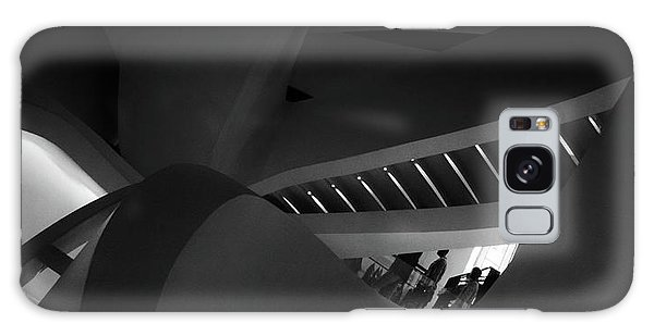 Banister Galaxy Case - Stairway Swerve by Jessica Jenney