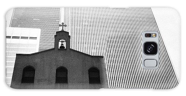 Shadow Of World Trade Center Galaxy Case by Dave Beckerman