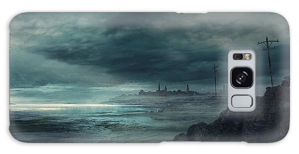 Boston Galaxy S8 Case - Shadow Over Innsmouth by Guillem H Pongiluppi