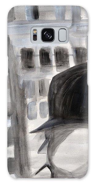Shadowman Galaxy Case by Nadine Dennis