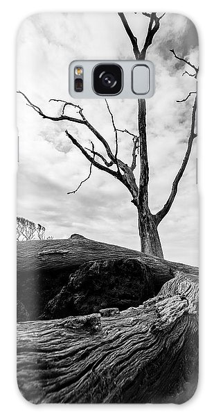 Galaxy Case featuring the photograph Shadows In Black And White by Robert Och