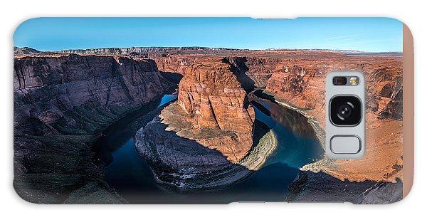 Shadows Of Horseshoe Bend Page, Arizona Galaxy Case